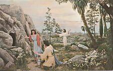 """*Religious Postcard-""""The Resurrection Scene"""" /Green Acres Memorial Gardens/"""
