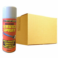12 x Silverhook SILICONE Multi Purpose Lubricant Service Maintainence Spray