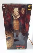 "NECA FRIDAY THE 13TH 2009 REMAKE 18"" inch JASON VOORHEES ACTION FIGURE"