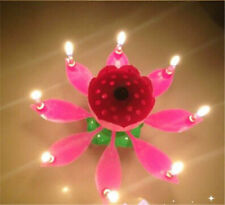 Musik Happy Birthday Geburtstagskerze Fontäne Feuerwerk Blume Geburtstag Kerze!