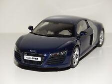 KYOSHO 1:18 # Audi R8 4.2 FSI V8 # blau / blue  # Neu OVP Kyosho No. 09213BL