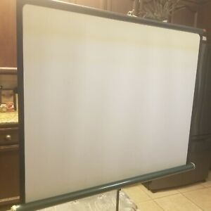 Vintage Movie Projection Screen 37x48 Tripod Standing