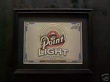 Point Light Beer Sign #489