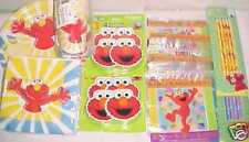 New elmo Party Supplies favors toys plates cups napkins