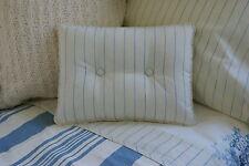 New Custom Ralph Lauren Catalina Island Narrow Stripe Accent Pillow 2 Button
