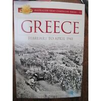 Australian Battles Fought in Greece 1941 WW2 6th Division Blamey