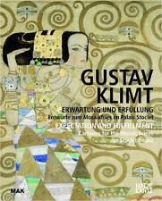 Libro especializado Gustav Klimt, expectativa y cumplimiento, Wiener Werkstätte, nuevo
