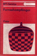 Fernsehempfänger/RFT-Service/Fachbuch