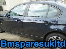 BMW E90 3 Series Passenger Rear Door Glass 2004 - 2011 Monaco Blue 320d Breaking