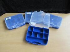 4 pequeñas Organizador Caja de almacenamiento Funda 8 Compartimientos Traje Perlas Joyas resultados