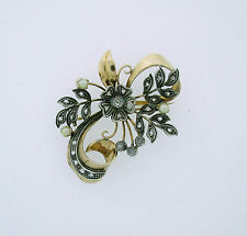 Pearl Brooch/Pin Vintage Fine Jewellery (Unknown Period)