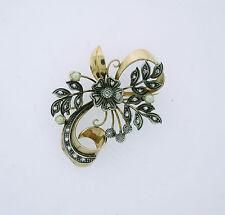 Pearl Brooch/Pin Vintage Fine Jewellery (Unknown Period)