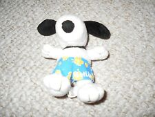 Metlife Met Life Snoopy Yellow Blue Surf Shorts Open Good Condition