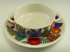 VILLEROY & BOCH - ACAPULCO Pattern - Soup Bowl & Underplate