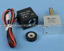 """12V DC 1/8"""" 2 Way Normally Closed Pneumatic Aluminum Electric Solenoid Air Valve"""