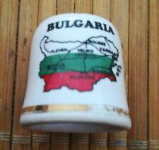 Dé à coudre de collection BULGARIE. B7