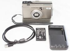 Excellent CONTAX TVS Digital 5.0 MP Digital Camera Carl Zeiss Vario Sonnar Lens