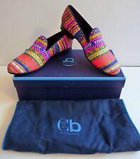 """Cecilia Bringheli CB NIB """"Positano 52"""" Multi-Color Ballet Flats Size 9 /39 $495."""