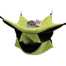 Playing Three Layer Hamster Bed Squirrel Tent Honey Glider Cage Parrot Hammock