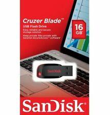 SanDisk 16GB Cruzer Blade USB 2.0 SD CZ50 16G SDCZ50 USB FLASH DRIVE SDCZ50-016G