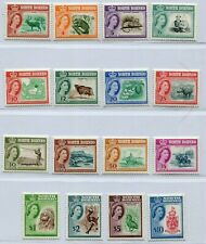 QEII 1961 NORTH BORNEO LOVELY SET SCOTT 261-285 PERFECT MNH