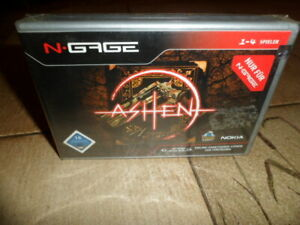 Nokia N Gage Game Ashen DE Version for collectors sammler