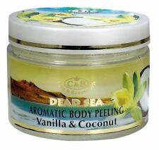 Dead Sea, C&B, Care & Beauty, Body Peeling Vanilla Coconut, Vol.12fl.oz/350ml