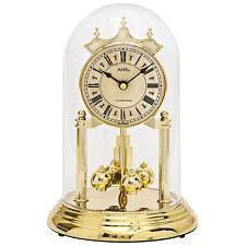 Ams 1204 Horloge de table avec pendule rotative Année Quartz Doré