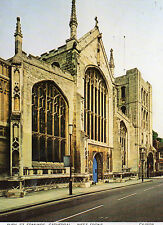 postcard  Suffolk  Bury St Edmunds   Cathedral  west front  unposted  judges
