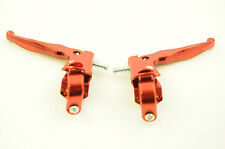 BMX MX STYLE BRAKE LEVERS ALLOY MX TYPE OLD SCHOOL OR MODERN BMX RED BL805RD