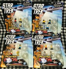 STAR TREK - FIGHTER PODS - SERIES 1 - SET OF 4 PACKS - ASST. B