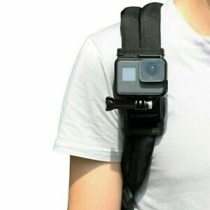 Shoulder Strap Mount Backpack Holder with Screws for GoPro DJI SJCAM Akaso YI