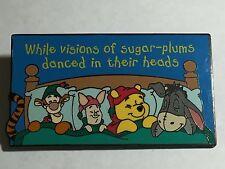 Disney Auctions DA Winnie the Pooh Friends Christmas Vision Sugar Plums LE Pin
