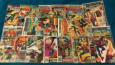 SPIDER-MAN 154-169 Set 162 167 168 1st App Jigsaw Wisp CGC it Punisher X-Men Lee