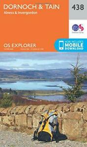 OS Explorer Mappa (438) Dornoch E Tain Da Ordnance Survey, Nuovo Libro, E Veloce