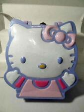 """2003 Sweet Hello Kitty Candy Tin Lunchbox Purse SEALED New 9"""" x 6.75"""" Orig Tag"""