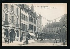 France Cote d'Or BEAUNE Rue Carnot c1900s? unused PPC