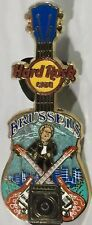 Hard Rock Cafe BRUSSELS 2014 City Tee Core GUITAR PIN V14 - HRC Catalog #80661