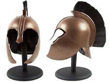 Troy Greek Achilles Trojan Medieval Helmet Armor with Stand & Liner NEW IN BOX