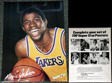 Magic Johnson FEELIN' 7-UP SMILE 1980 L.A. Lakers Signature Series Poster