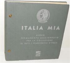 ITALIA MIA Album permanente aggiornato per collezione di tutti i francobolli ...