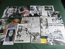 ERIC SYKES - TV/ FILM STAR  - CLIPPINGS /CUTTINGS PACK