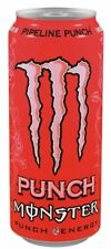 12 DOSES A 0,5 L Monstre Pipeline punch + ENERGY DRINK INC. consigne Rose