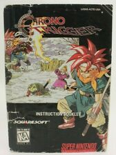 Chrono Trigger Super Nintendo SNES Manual Only Not Mint