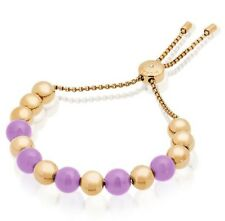 Michael Kors MKJ5455710 Summer Rush Slider Bracelet in Lavender & Gold-tone