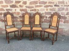 Gründerzeit Henri II 4 antike Stühle FRANKREICH