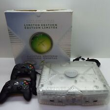 Original Microsoft XBOX Crystal Limited Edition BOXED (GENERIC CONTROLLER) T87