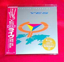 Yes 9012 Live The Solos JAPAN SHM MINI LP CD WPCR-13528