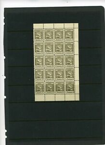 Italy Yugoslavia ABBAZIA 1920 tax revenue block of 20....MNG!!!9971