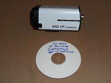 IP-BO8020 CCTV HD IP Box Camera 1920x1080 Resolution Open Box